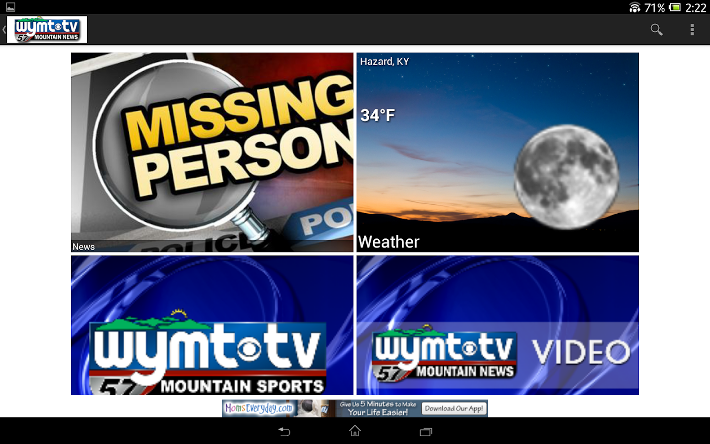 WYMT News - screenshot