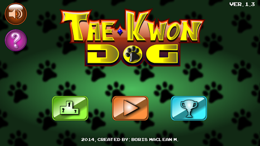 Tae Kwon Dog