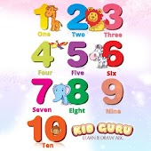 Kid Guru Numbers -Learn & Draw