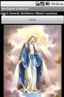 Screenshot of Let's recite the Holy Rosary