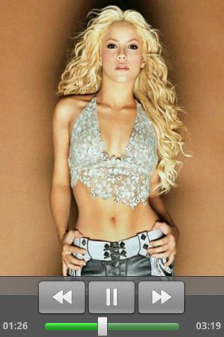Shakira music - screenshot