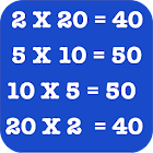 Multiplication Tables for Kids icon