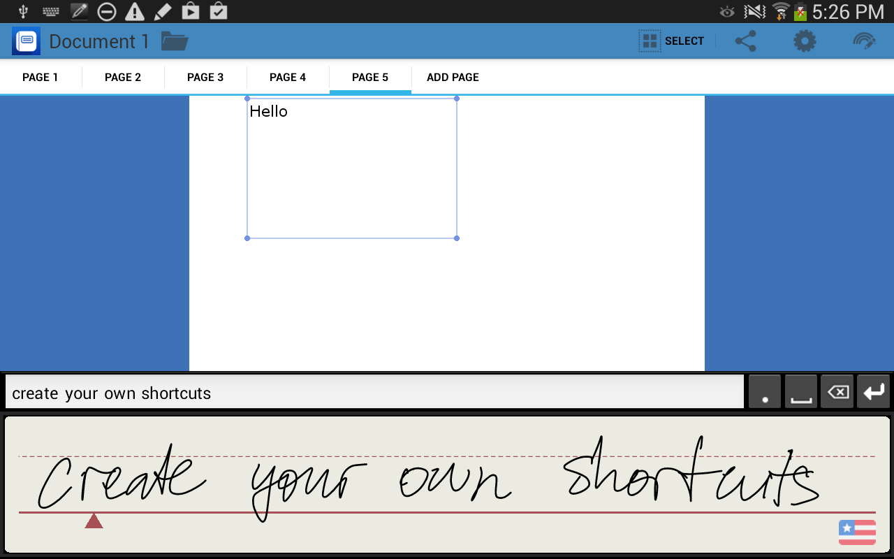 WritePad - screenshot