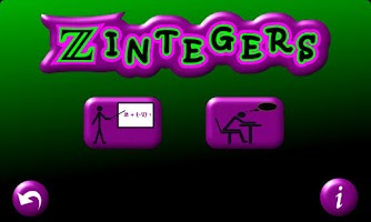 Screenshot of Zintegers