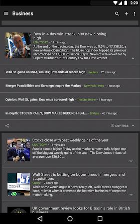 Google News & Weather 2.3 screenshot 2409