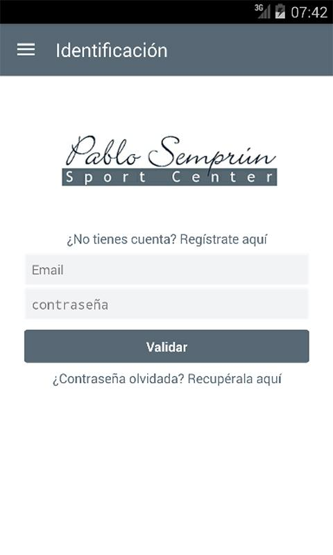Pablo Semprun Sport Center- screenshot