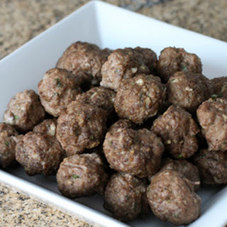 Herb and Garlic Meatballs