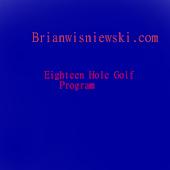 Golf 18 Hole Score
