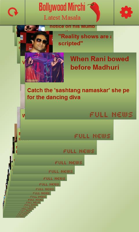 Bollywood Mirchi - screenshot