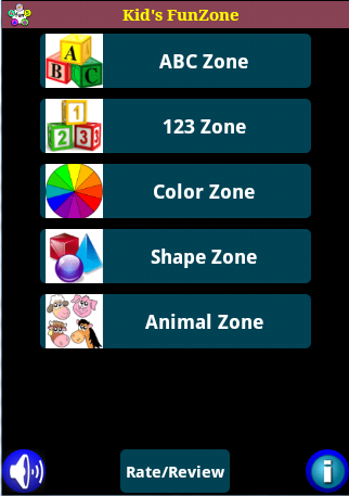 Kid's FunZone- screenshot