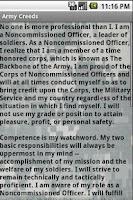 Screenshot of Army Creeds & Info Free