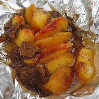 Grilled Peach Dessert