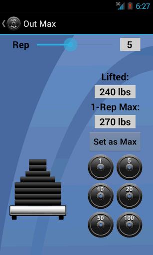 【免費健康App】Out Max Lite-APP點子