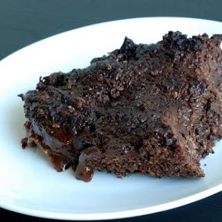 Breakfast Chocolate Mocha Pudding Cake
