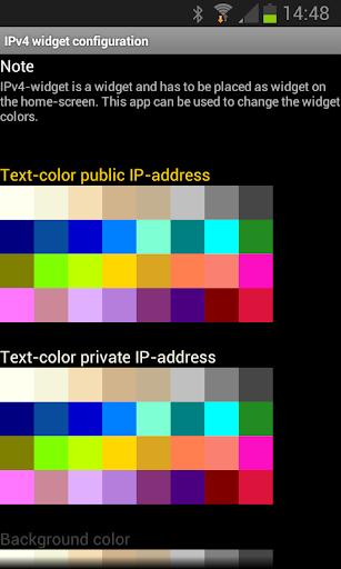 【免費工具App】IPv4 widget-APP點子