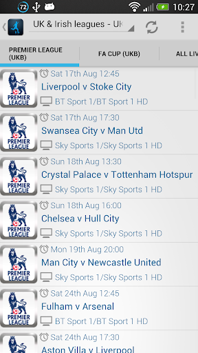 Live Football On TV Lite
