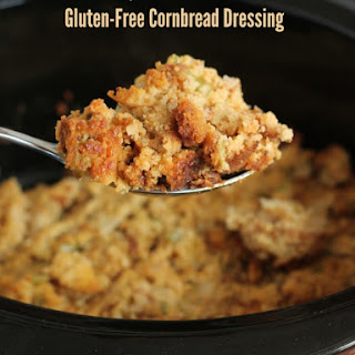 Slow Cooker Gluten-Free Dressing.