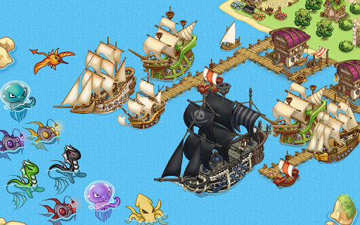 Pirates of Everseas v0.0.1000083 APK+DATA (Mod)