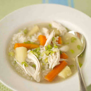 Chicken and Rice Soup.