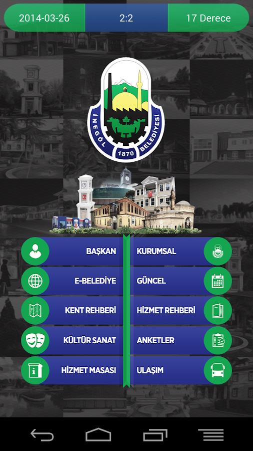 İnegöl Belediyesi - screenshot