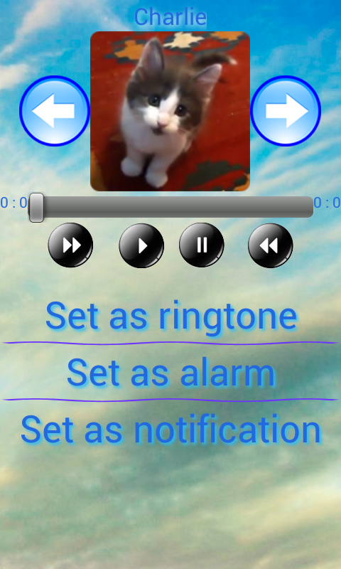 Dog ringtone mobile