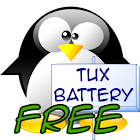 Mini Tux Battery Widget Free icon