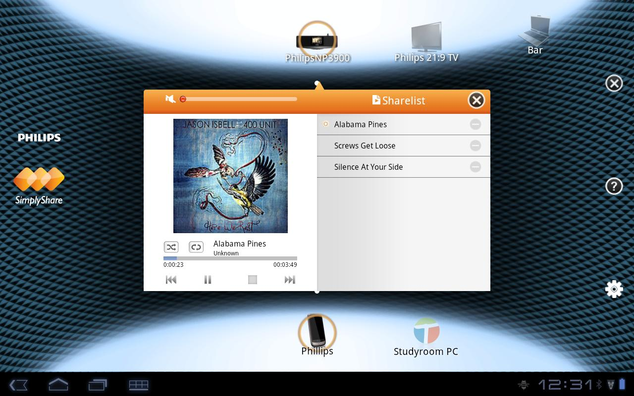 Philips SimplyShare - screenshot