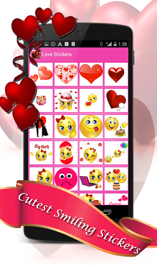 Love Chat Stickers- screenshot