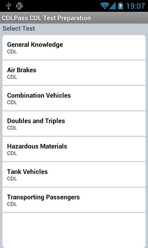 CDL Commercial Driver TestPrep- screenshot