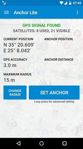 Anchor Watch SMS Alarm