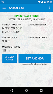 Anchor Watch / Alarm – Miniaturansicht des Screenshots