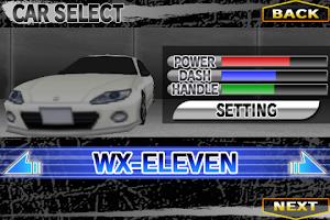 Screenshot of バトルレースGP ONE WAY RACING!