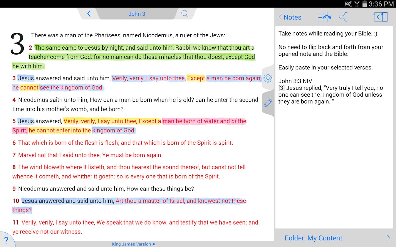 NKJV Bible - screenshot