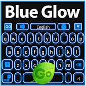 Blue Glow Keyboard