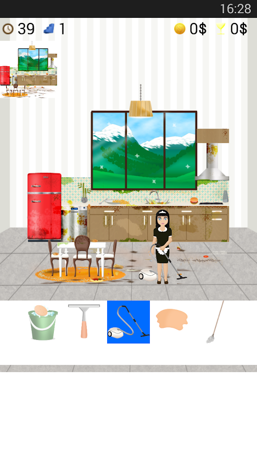 clean cooking games- screenshot