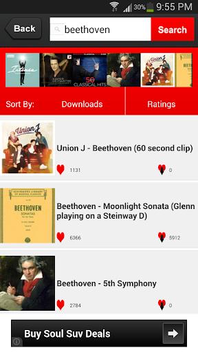 音楽検索 - MP3