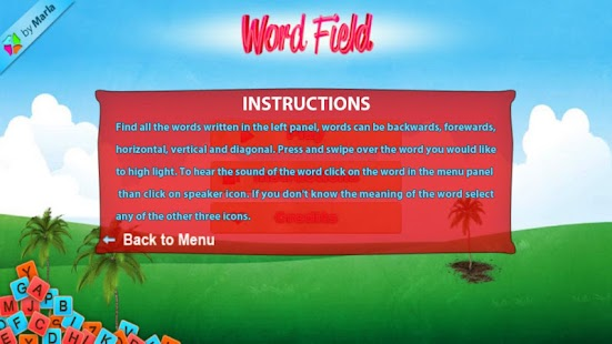 Learn English - Word Field - screenshot thumbnail