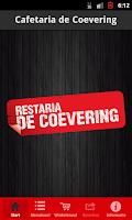 Screenshot of Restaria Coevering BestelApp