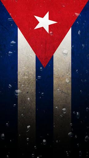 Cuba flag water effect LWP