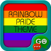 Rainbow Pride Theme for GO SMS