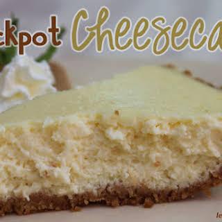 Crockpot Cheesecake.