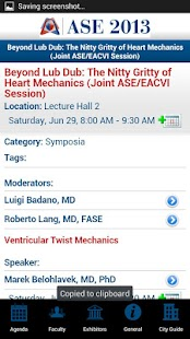 ASE Scientific Sessions - screenshot thumbnail