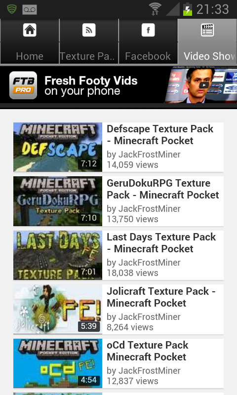 Texture Packs For Minecraft PE- screenshot