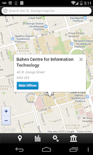 UofT Multi-Campus Map- screenshot thumbnail