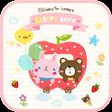 Happy Apple go locker theme icon
