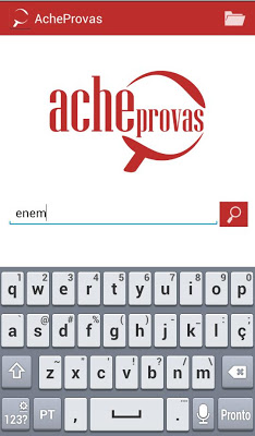 AcheProvas - ENEM e Vestibular - screenshot