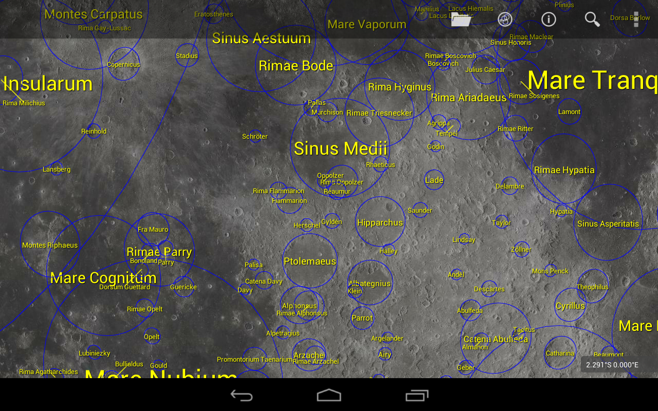 LunarMap HD - screenshot