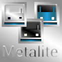 Inverted Metalite Blue Theme icon