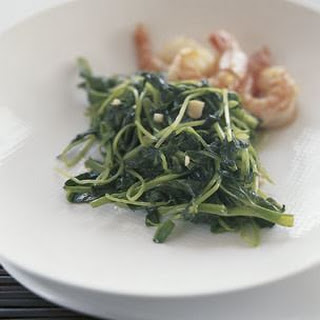 Stir-Fried Pea Shoots with Garlic Recipe