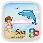 Seaside GO LauncherEX Theme